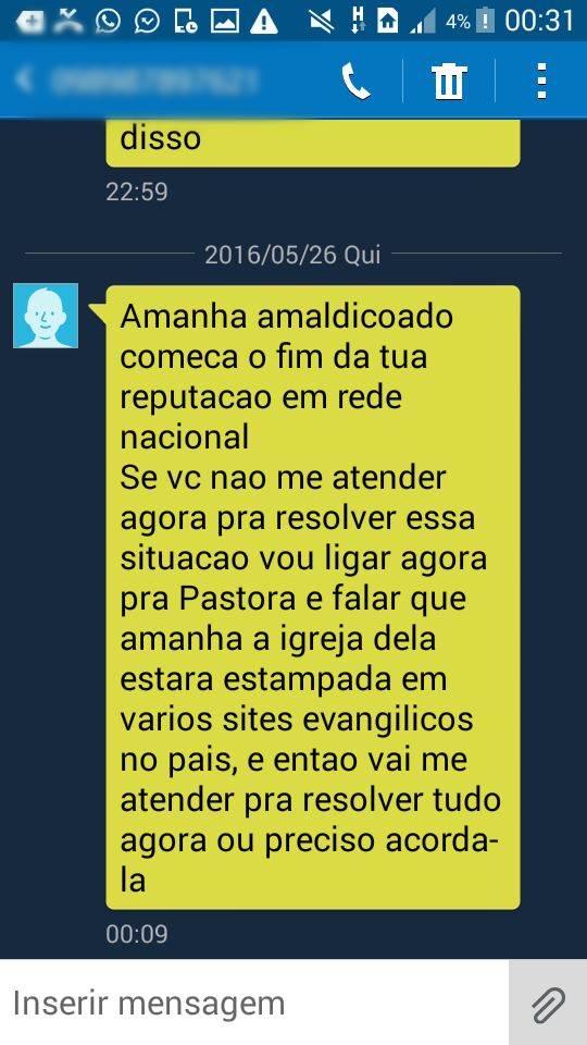 Pastor e namorada denunciam que estam sendo vitima de perseguição na internet
