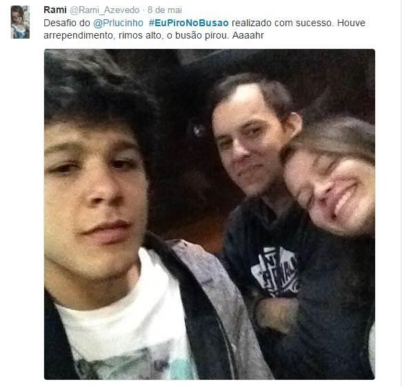 #EuPiroNoBusao fracassa e deixa saldo de 1 foto no twitter