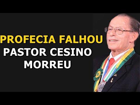 Pastor Cesino recebeu profecia falsa 2 anos antes de morrer