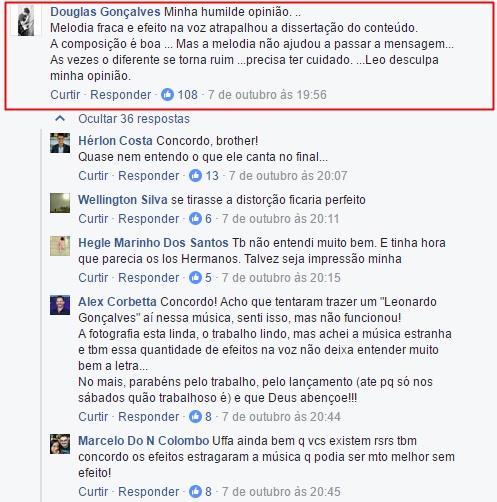 Musica gospel | Clipe lançado por Leonardo Gonçalves não agrada e cantor se irrita com fãs