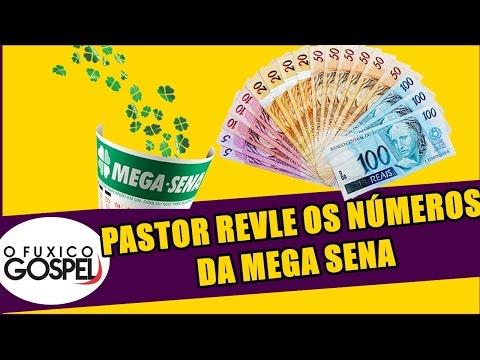 Pastor revela os números da Mega Sena durante profecia