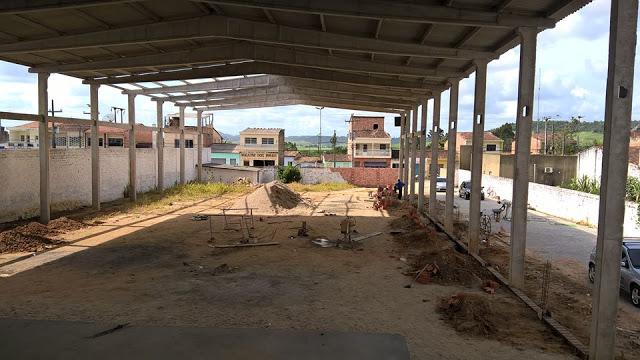 Construção abandonada da Assembleia de Deus de Matriz do Camaragibe