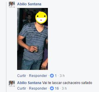 """Abílio Santana manda internauta """"Se Lascar"""" por discordar dele"""