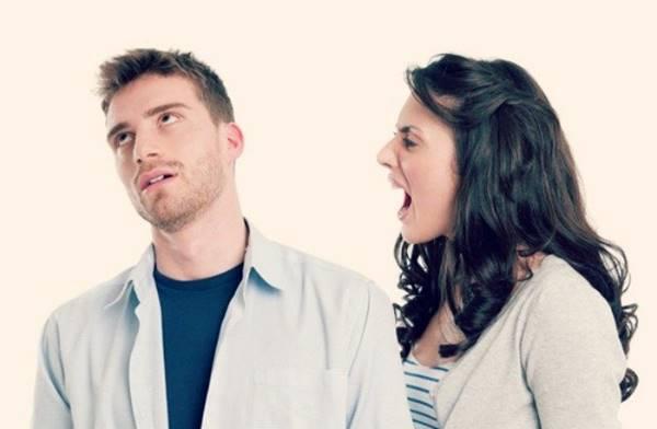 Casal com brigas frequentes