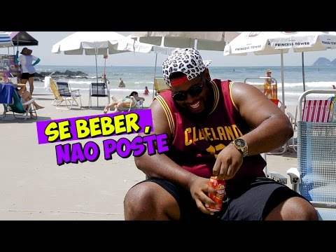 Paxtorzão flagra membro da igreja tomando cerveja na praia