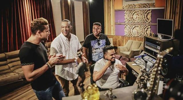 Marquinhos Gomes grava live session com participação de  Israel Novaes