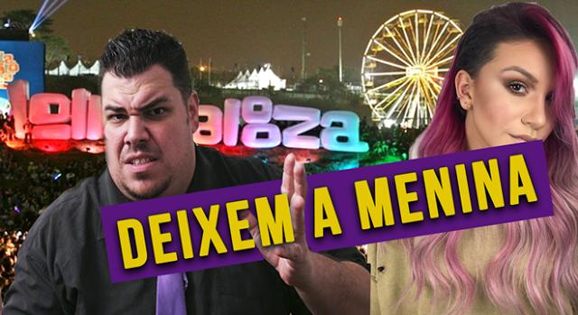 """""""Paxtorzão"""" defende Priscila Alcântara por ter ido ao Lolapalooza"""