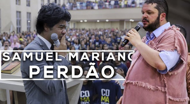 Samuel Mariano pede perdão ao Ap. Agenor Duque