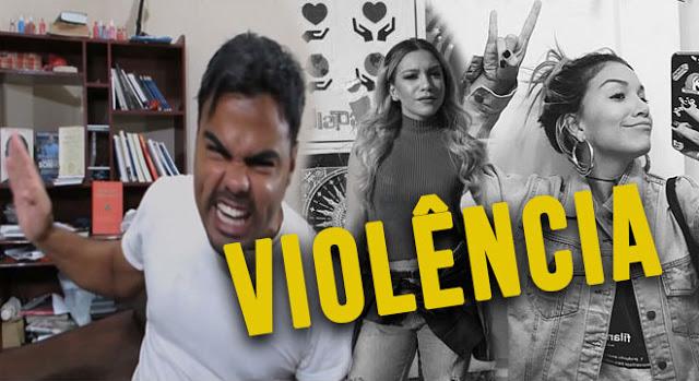 Youtuber é acusado de incitar violência contra Priscila Alcântara