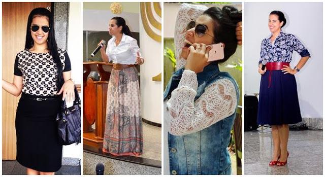 Veja 20 looks da missionária Camila Barros para se inspirar