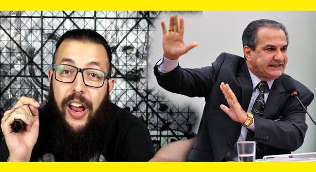 Cauê Moura grava vídeo ironizando o pastor Silas Malafaia