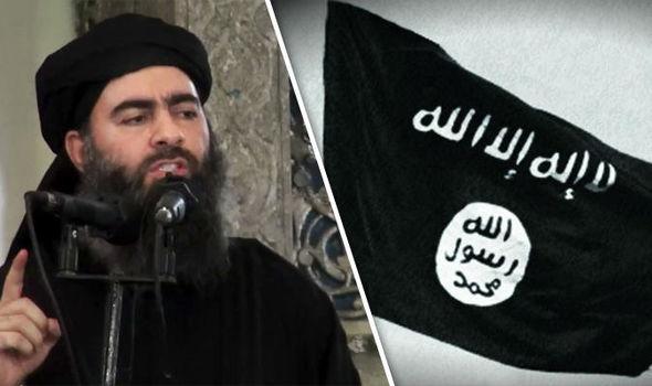 Abu Bakr al-Baghdadi líder do Estado Islâmico