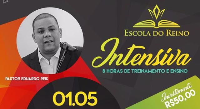 """Escola do Reino promove aula """"intensiva"""" para pastores e líderes. Saiba quando."""