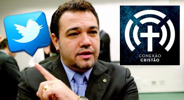 Deputado Marco Feliciano pede explicações ao Twitter sobre exclusão de perfil cristão