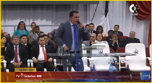 Pastor Nielsen Gonçalves fala do Fuxico Gospel no Gideões