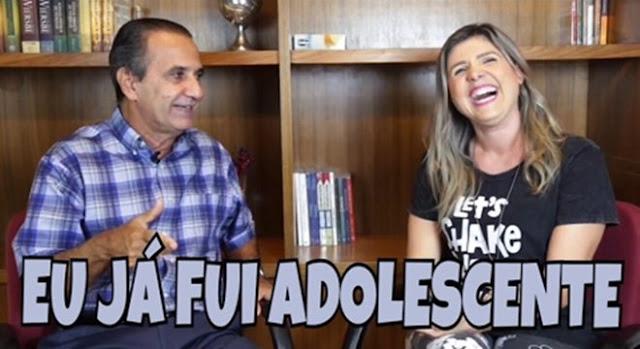 """Silas Malafaia participa do quadro """"Eu já fui adolescente"""" em canal do Youtube"""