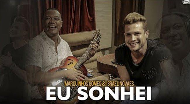 """Marquinhos Gomes e Israel Novaes lançam clipe da música """"Eu Sonhei"""""""