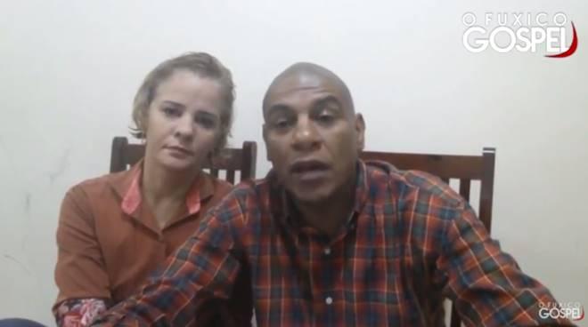Após escândalo, Pr. Anderson Bravo pede perdão ao lado da esposa