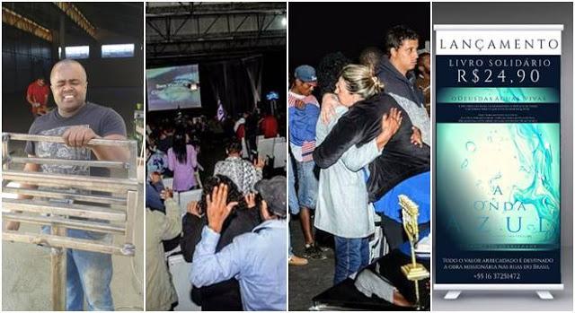 """""""Igreja sem parede"""" evangeliza moradores de rua com projeto solidário"""