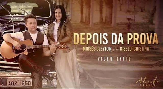 "Moisés Clayton lança o single ""Depois da Prova"". Assista!"