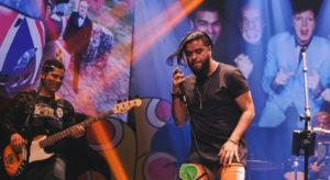 Mauro Henrique, vocalista da banda Oficina G3