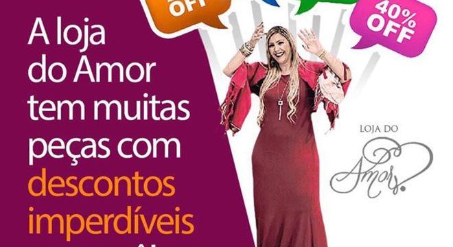 "Bispa Ingrid Duque lança ""Loja do Amor"""