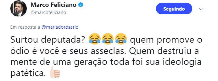 Marco Feliciano resposta