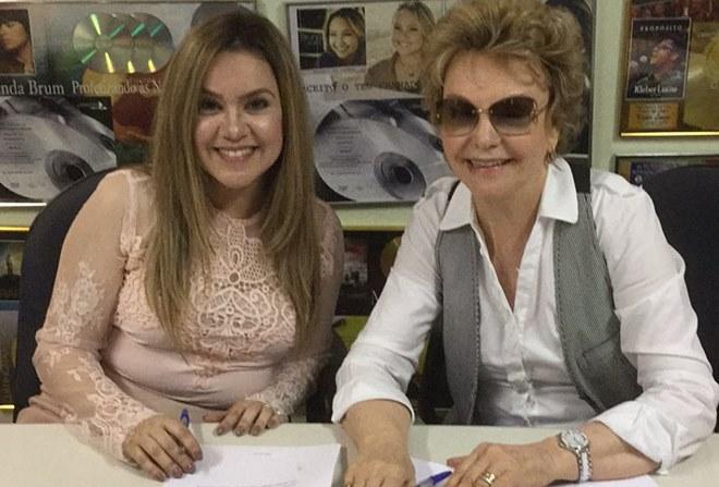 Sarah Farias e Yvelise de Oliveira (Reprodução)