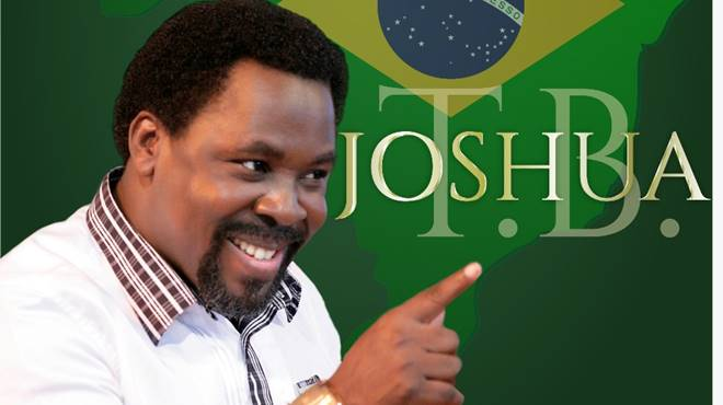 T.B Joshua vem ao Brasil em Outubro para cruzada