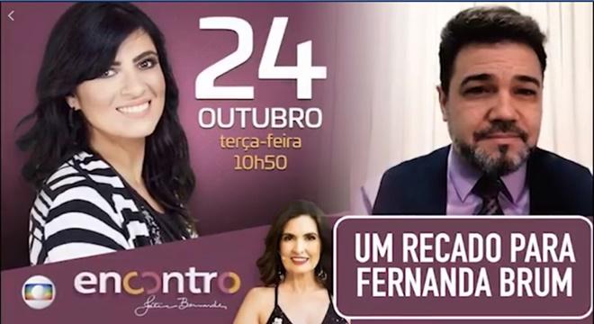 Pr. Marco Feliciano manda recado para Fernanda Brum sobre ida à Globo