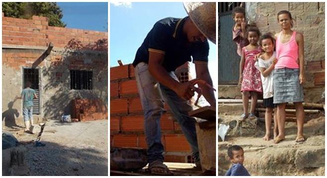 Pastor de 23 anos constrói casa para membros de sua igreja