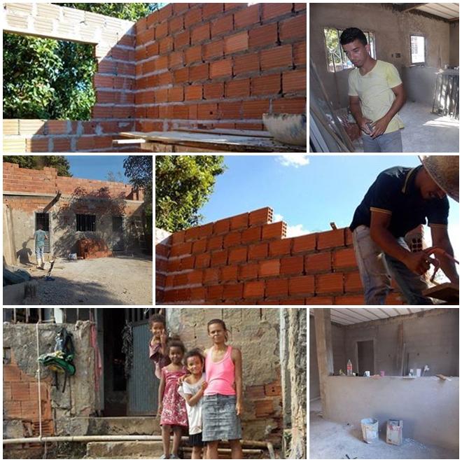 Pastor Constroi casa para membro da igrejaPastor Constroi casa para membro da igreja