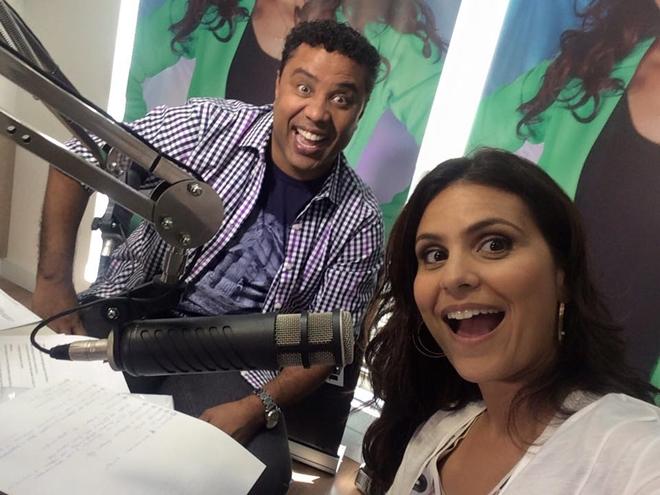 Aline Barros e o Pr. Gilmar Santos (Reprodução