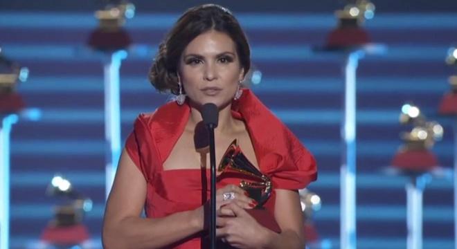 Aline Barros sabia que iria ganhar o Grammy? Pode ser que sim.