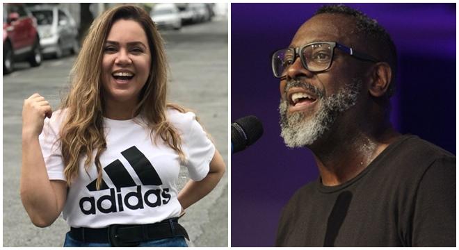"""Cantora gospel Sarah Farias manda indireta e """"detona"""" Kleber Lucas"""
