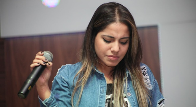 Cantora gospel Gabriela Rocha