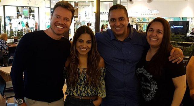 Leandro Moreira, Gabriela ROcha, Waguinho e Fabíola Bastos (Reprodução/Insta)