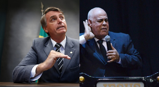 Jair Bolsonaro e Mattos Nascimento