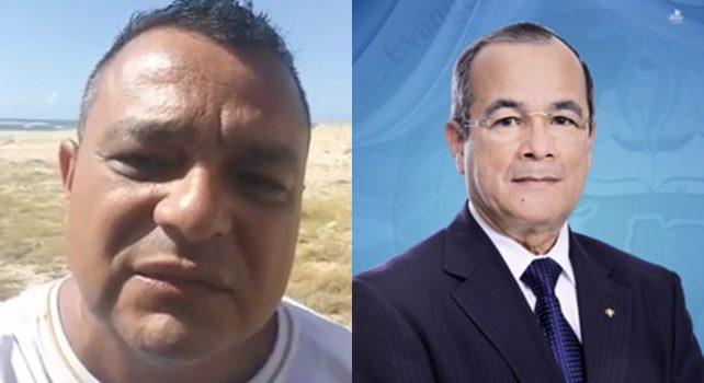 Pastor Hilton Andrade e pastor Martin Alves da Silva
