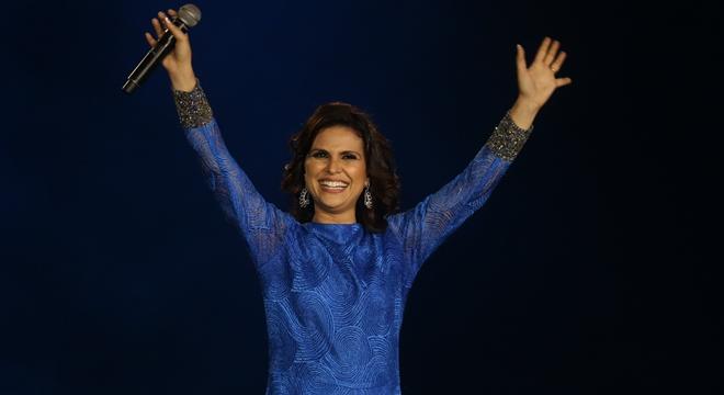 Cantora gospel Aline Barros (Reprodução)