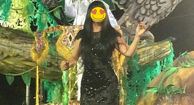 Cantora gospel desfila no carnaval e recebe apoio de Soraya Moraes