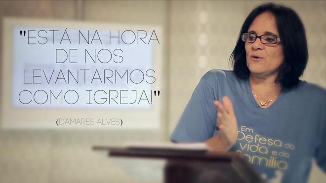 Pastora Damares Alves (Reprodução)