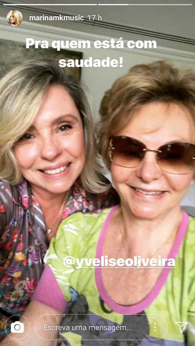 Yvelise e Marina Oliveira