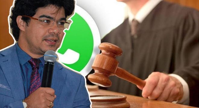 """Urgente! Justiça manda """"Rastrear"""" quem compartilhou fotos de Samuel Mariano"""