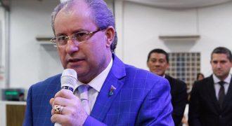 Pastor. Reuel Bernardino - Presidente do Gideões (Reprodução)