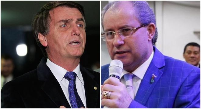 Deputado Jair Bolsonaro e Pastor Reuel Bernardino