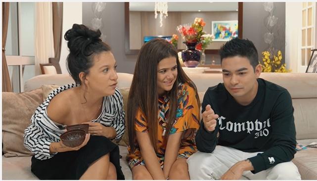 Priscilla Alcantara, Maisa e Yudi (Youtube)