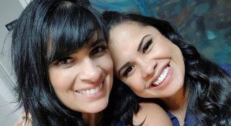 Fernanda Brum e Cassiane (Reprodução: Foto/Instagram)