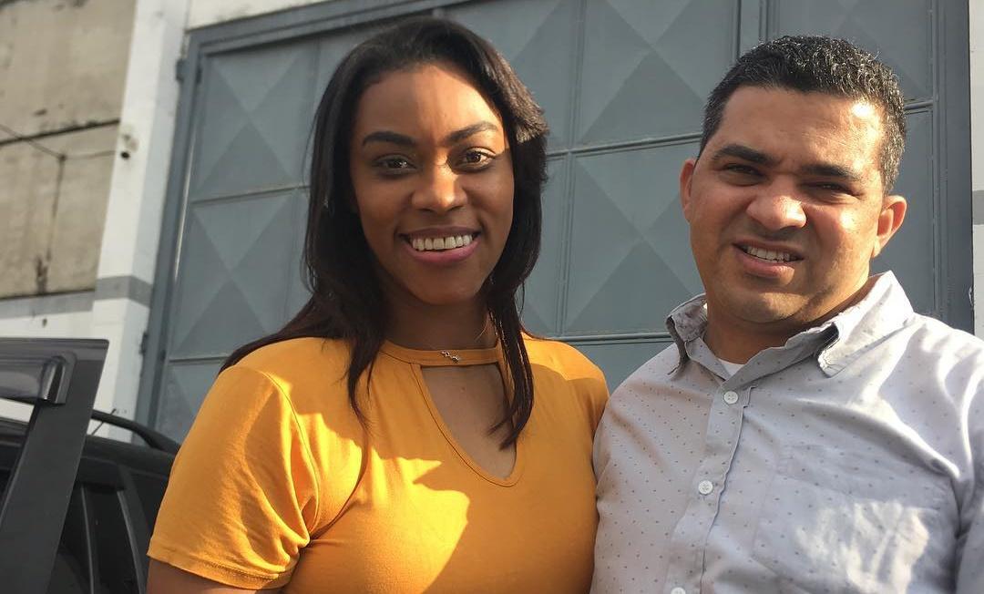 Elaine Martins e o esposo Oséias Chagas (Reprodução Instagram)