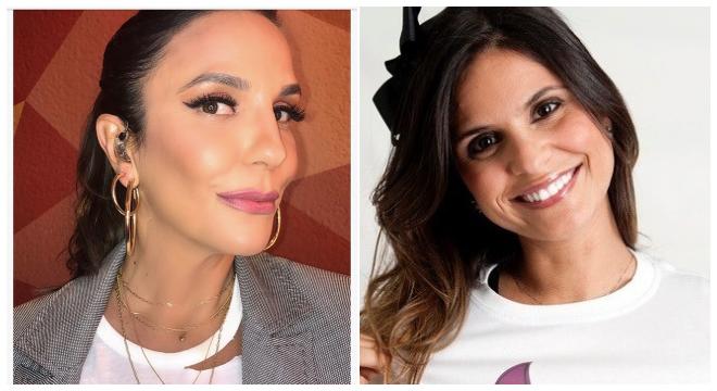 Ivete Sangalo e Aline Barros (Reprodução)